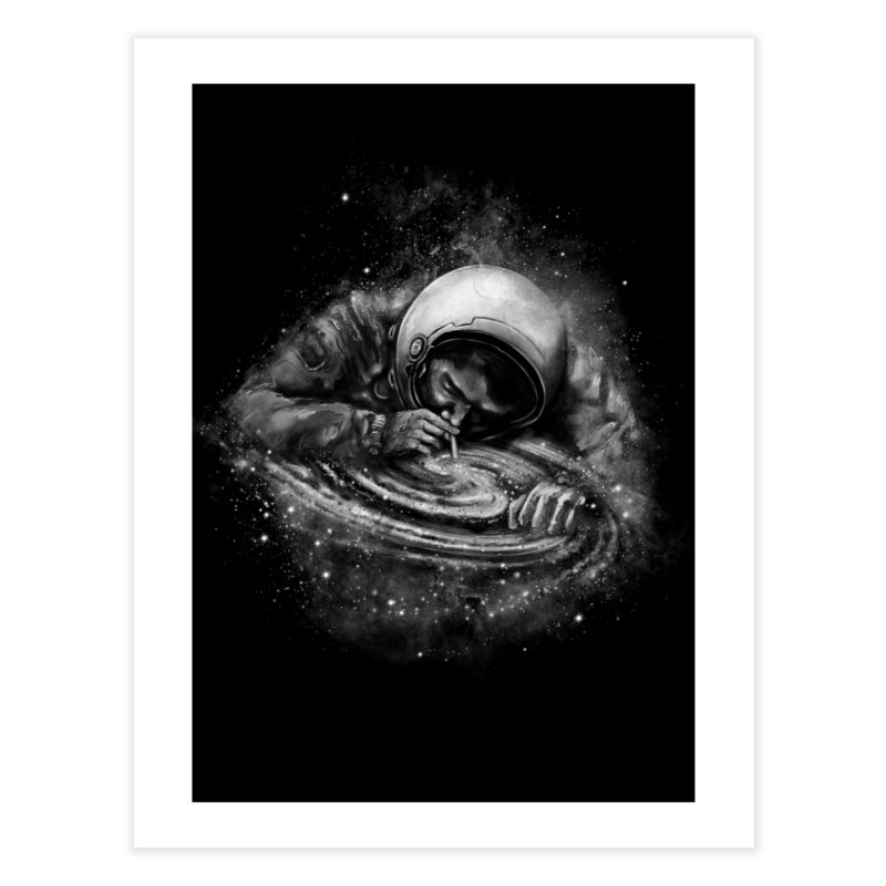 Space Junkie Home Fine Art Print by nicebleed