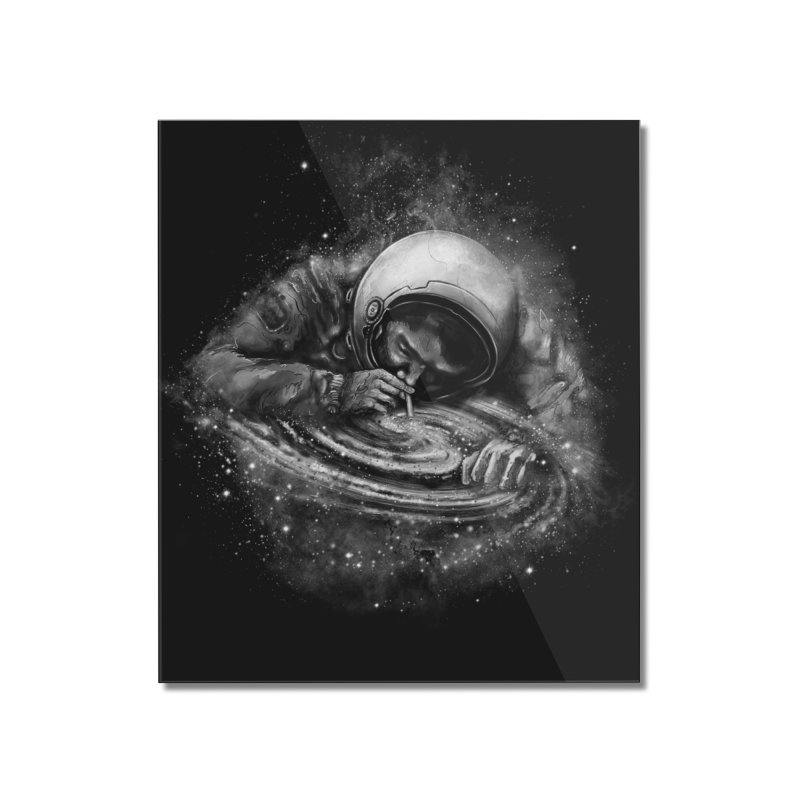 Space Junkie Home Mounted Acrylic Print by nicebleed