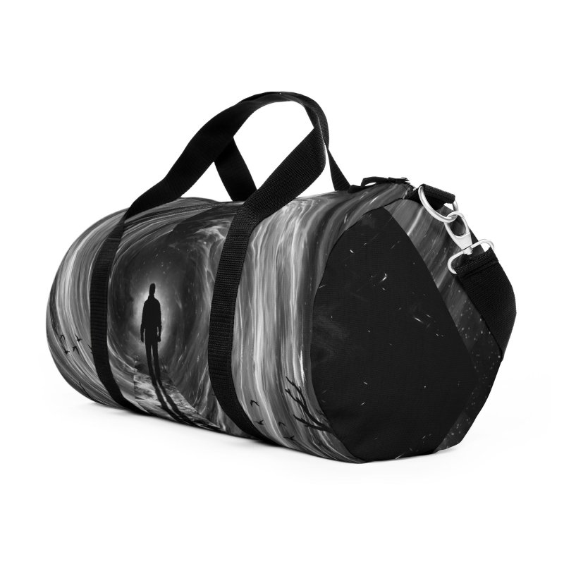 Spacetime Accessories Duffel Bag Bag by nicebleed