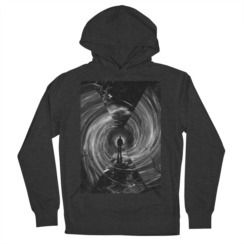 Spacetime Men's French Terry Pullover Hoody by nicebleed