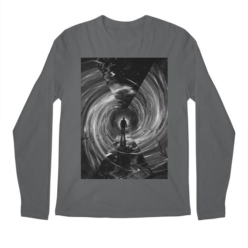 Spacetime Men's Regular Longsleeve T-Shirt by nicebleed