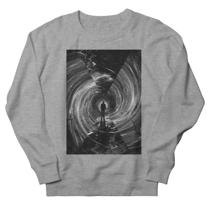 Spacetime Men's French Terry Sweatshirt by nicebleed