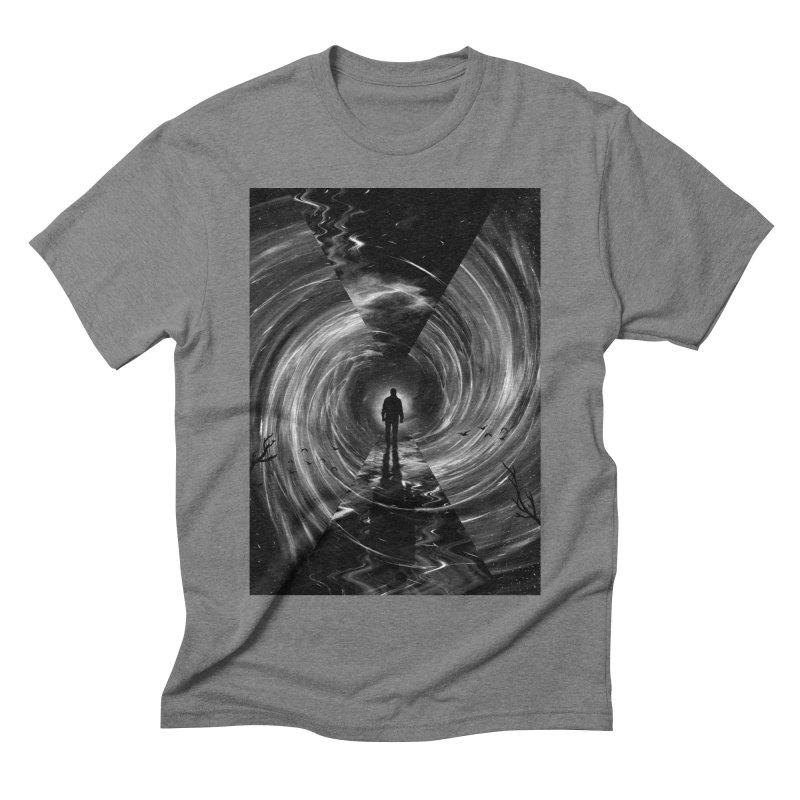 Spacetime Men's Triblend T-Shirt by nicebleed