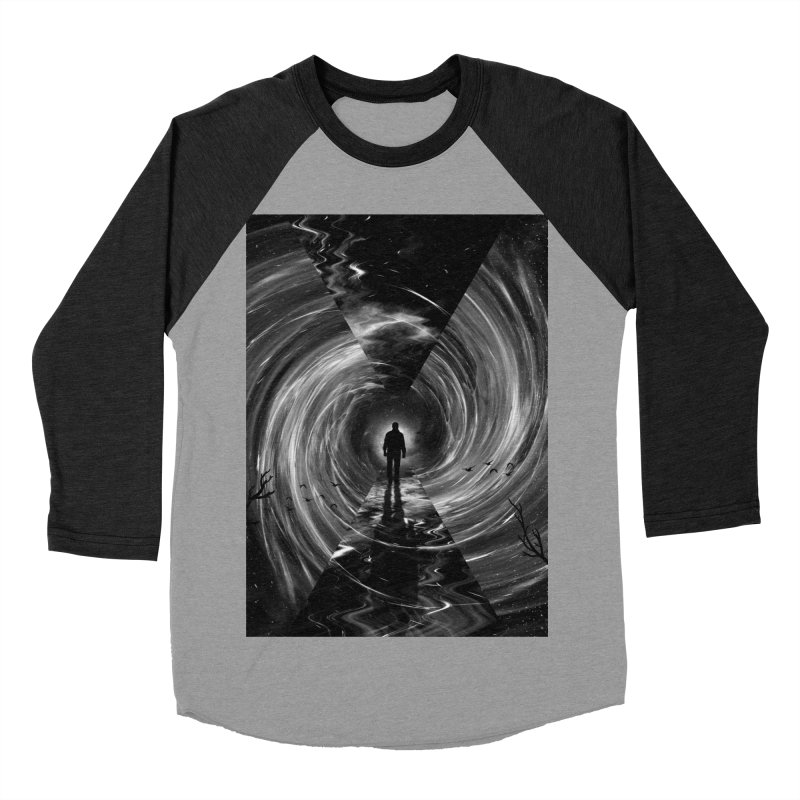 Spacetime Women's Baseball Triblend Longsleeve T-Shirt by nicebleed