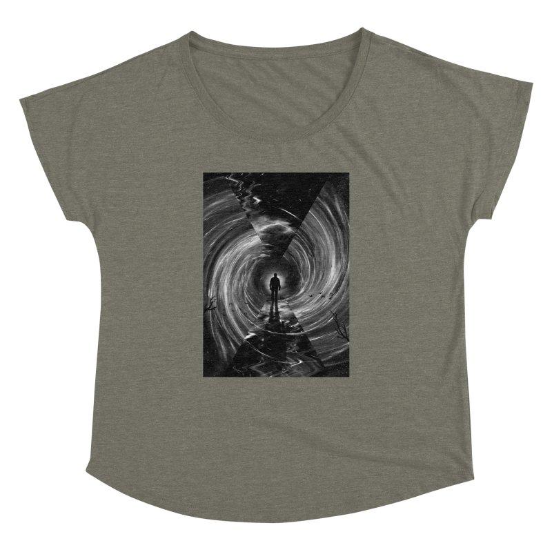 Spacetime Women's Dolman Scoop Neck by nicebleed