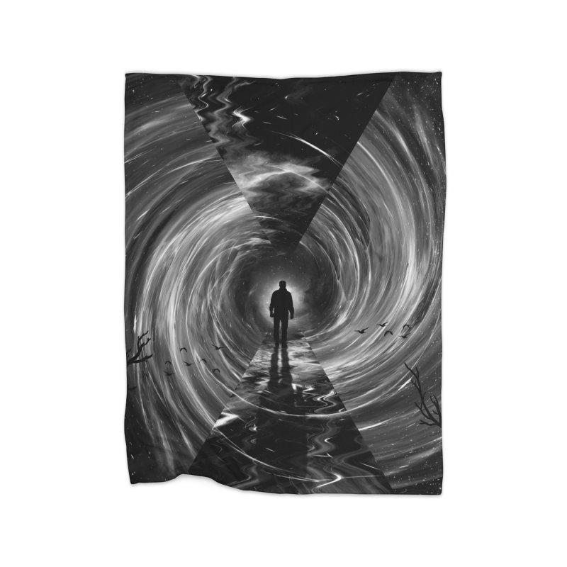Spacetime Home Blanket by nicebleed