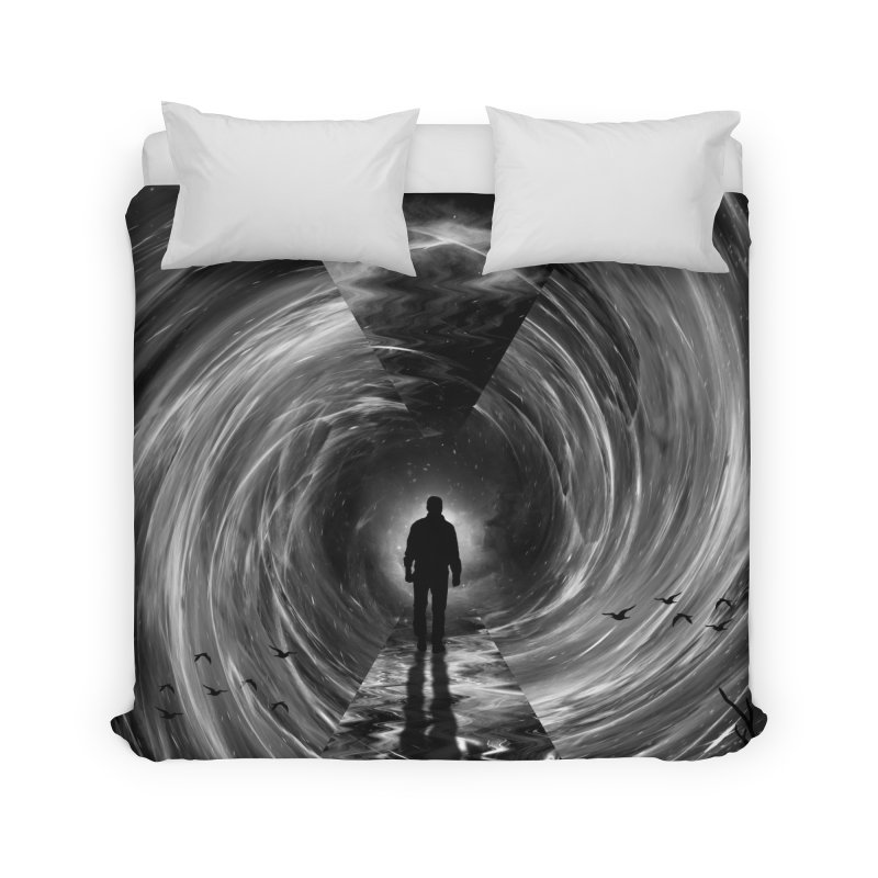 Spacetime Home Duvet by nicebleed