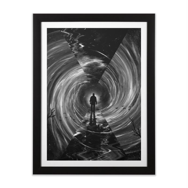 Spacetime Home Framed Fine Art Print by nicebleed