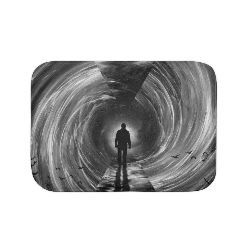 Spacetime Home Bath Mat by nicebleed