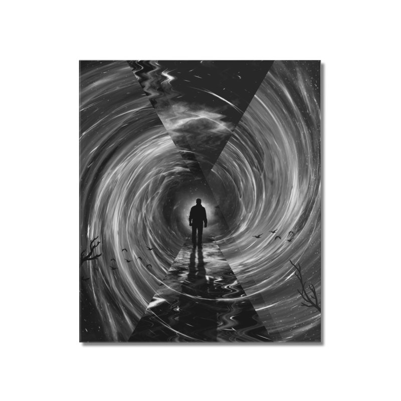 Spacetime Home Mounted Acrylic Print by nicebleed