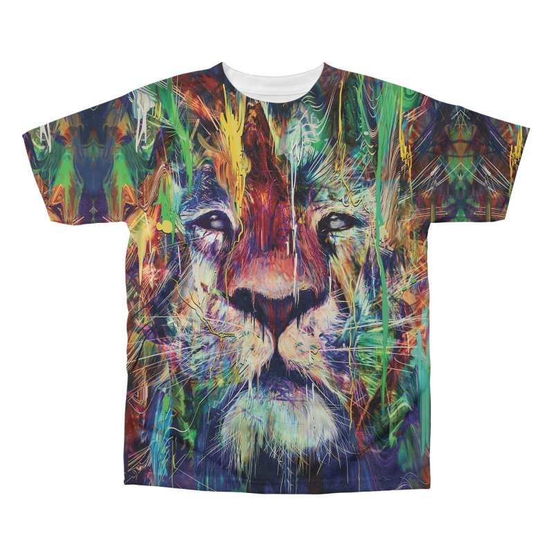 Lion Men's Regular All Over Print by nicebleed