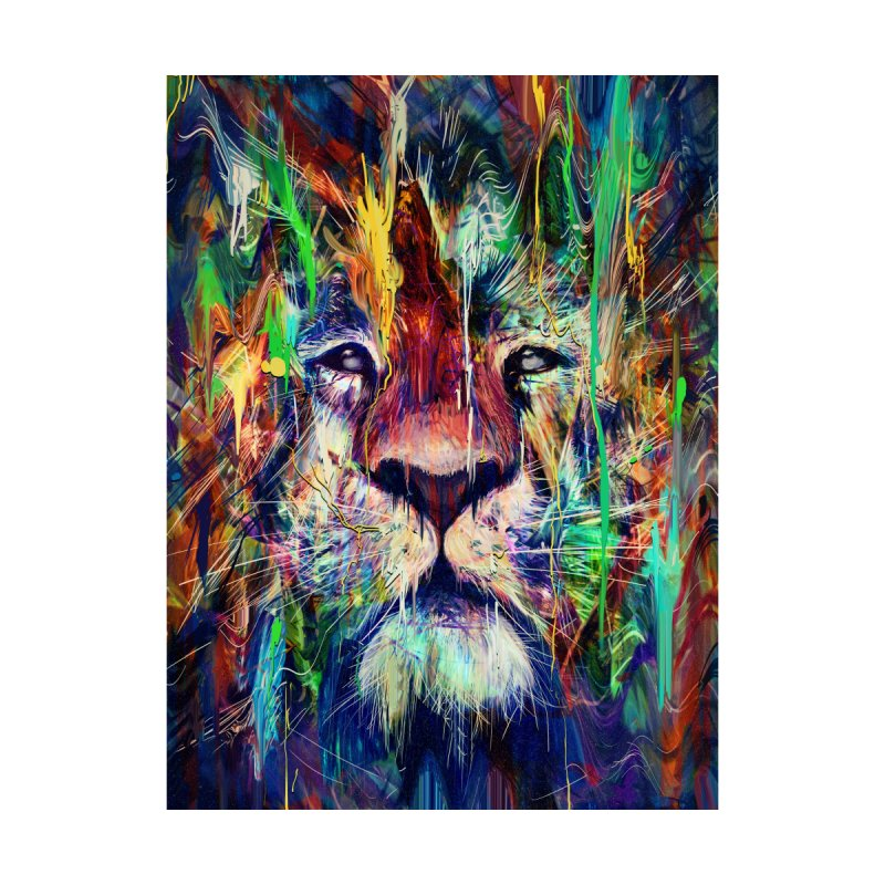 Lion Home Framed Fine Art Print by nicebleed