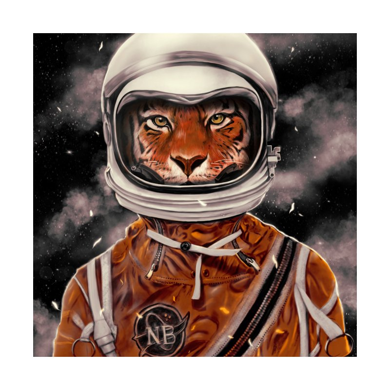 Astro Tiger Home Blanket by nicebleed