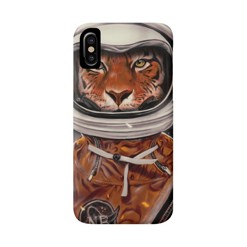 Astro Tiger Accessories Phone Case by nicebleed