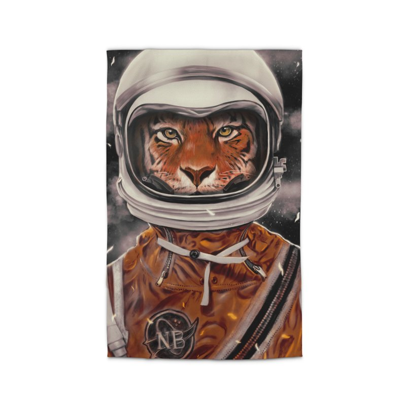 Astro Tiger Home Rug by nicebleed