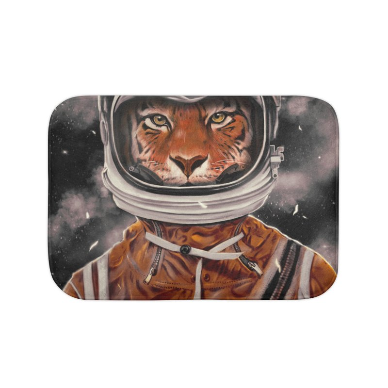 Astro Tiger Home Bath Mat by nicebleed