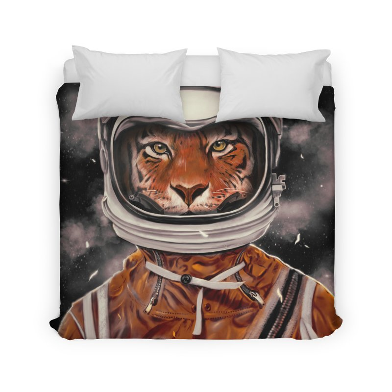 Astro Tiger Home Duvet by nicebleed