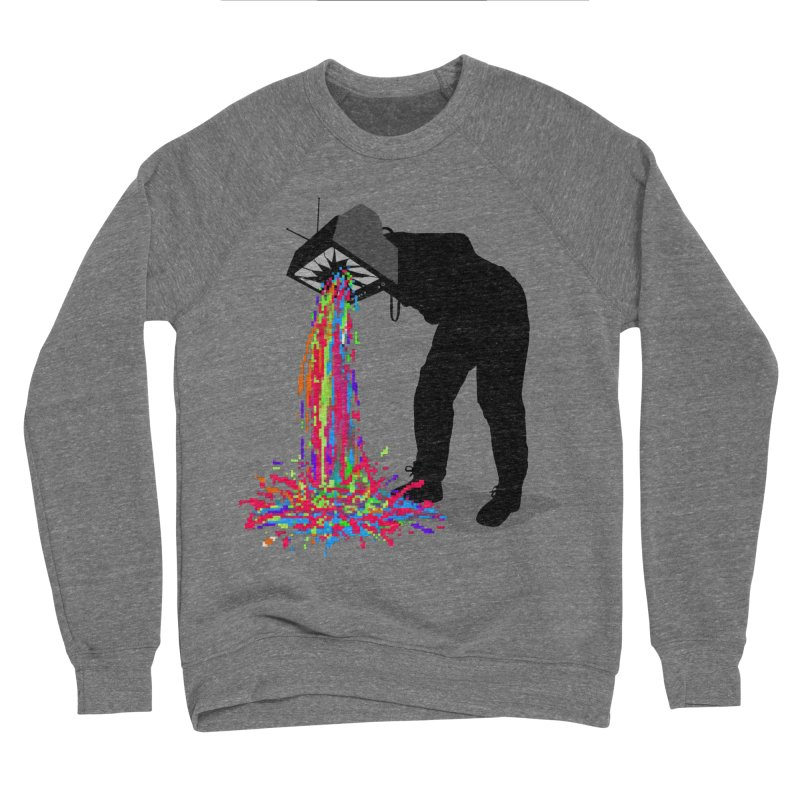 Pixel Vomit Men's Sponge Fleece Sweatshirt by nicebleed