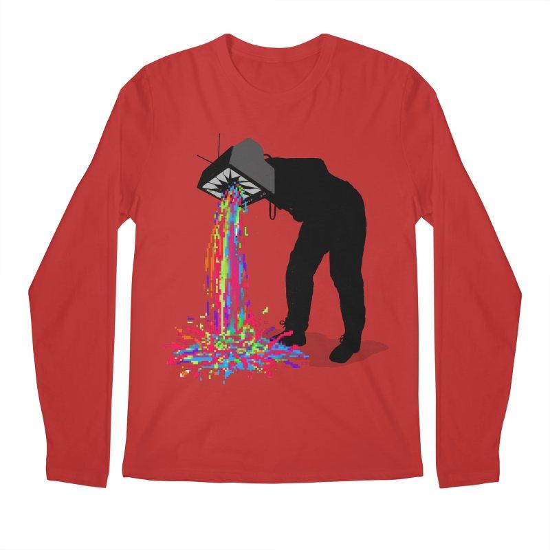 Pixel Vomit Men's Regular Longsleeve T-Shirt by nicebleed