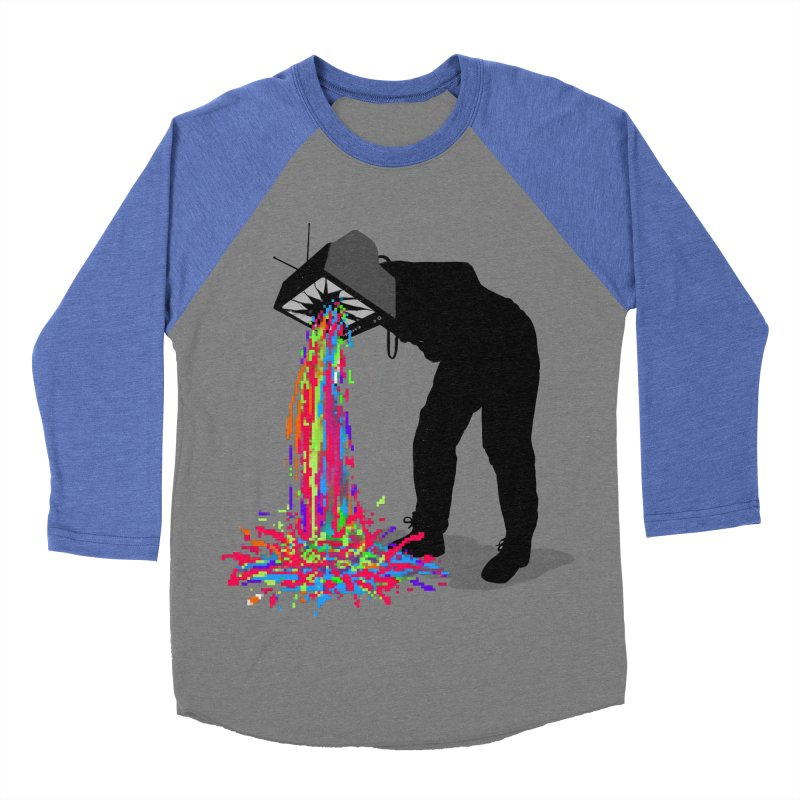 Pixel Vomit Women's Baseball Triblend Longsleeve T-Shirt by nicebleed