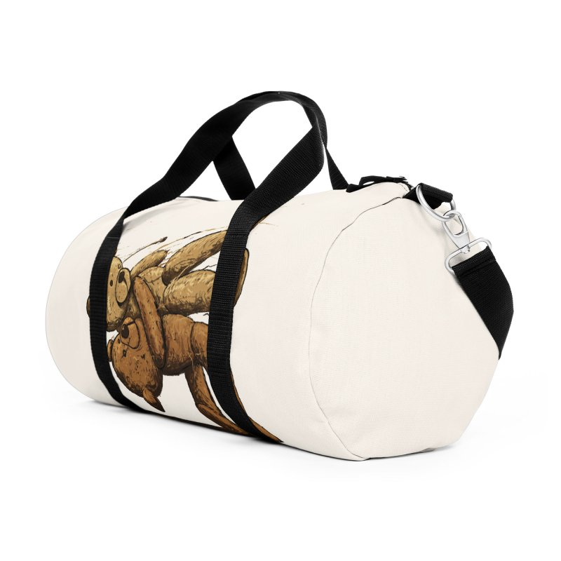 Bear Hug Accessories Duffel Bag Bag by nicebleed