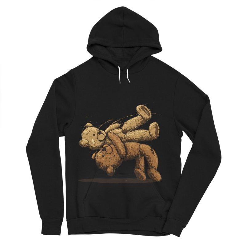 Bear Hug Men's Sponge Fleece Pullover Hoody by nicebleed