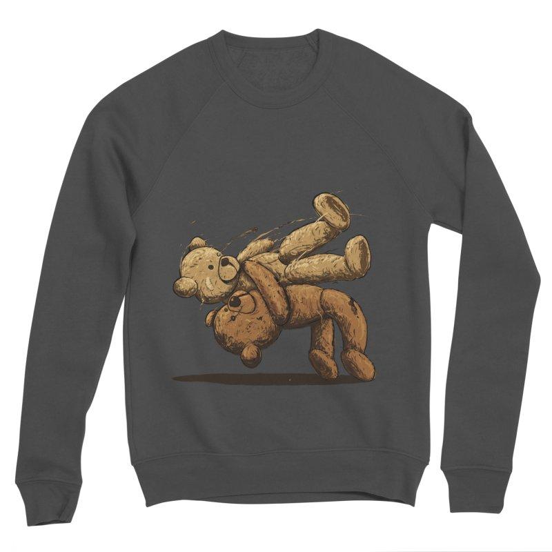 Bear Hug Men's Sponge Fleece Sweatshirt by nicebleed
