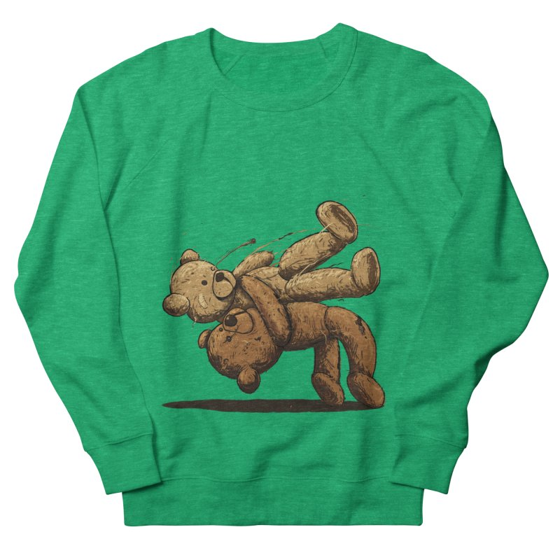 Bear Hug Men's French Terry Sweatshirt by nicebleed