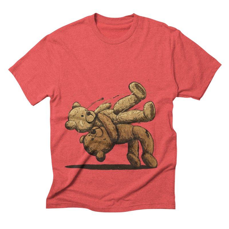 Bear Hug Men's Triblend T-Shirt by nicebleed
