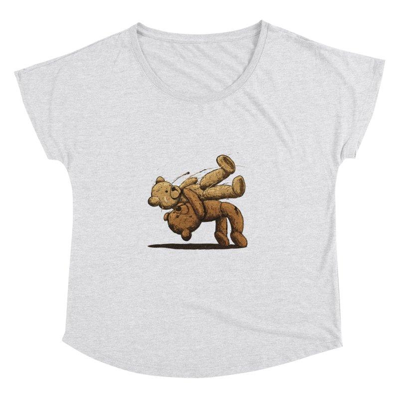 Bear Hug Women's Dolman Scoop Neck by nicebleed