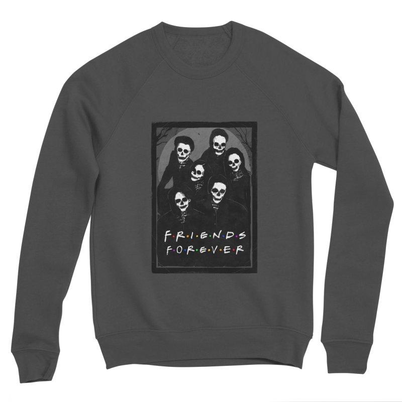 Friends Forever Men's Sponge Fleece Sweatshirt by nicebleed