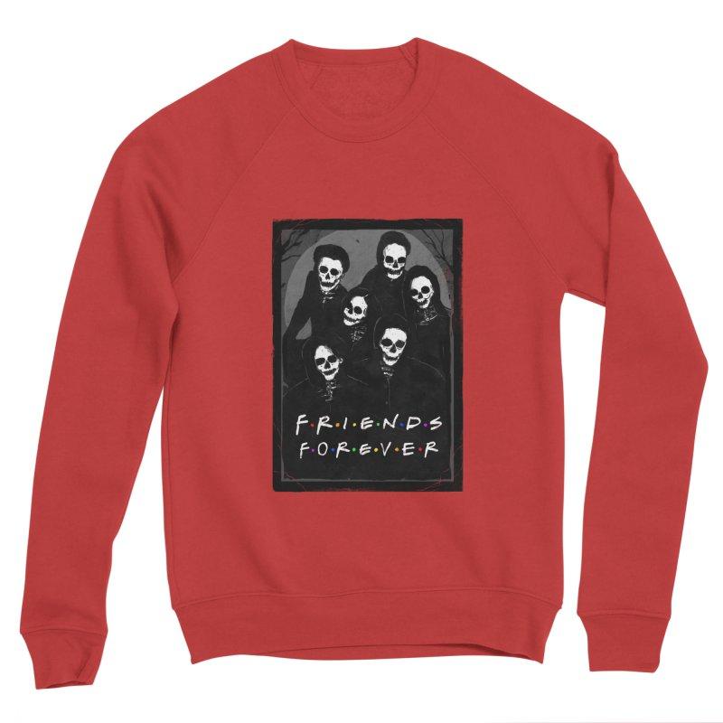 Friends Forever Women's Sponge Fleece Sweatshirt by nicebleed