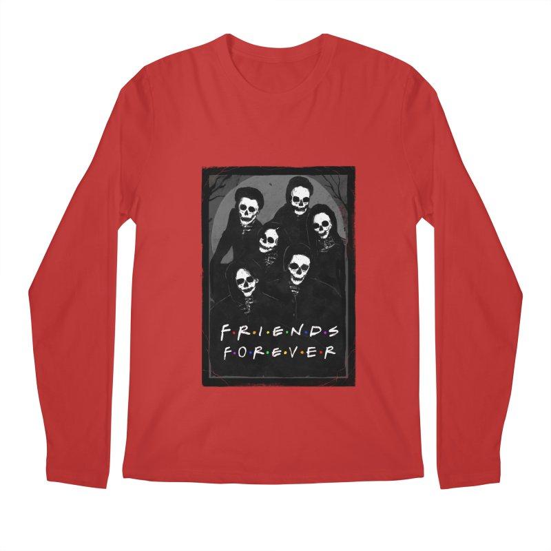 Friends Forever Men's Regular Longsleeve T-Shirt by nicebleed