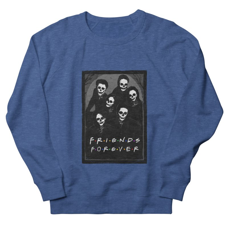 Friends Forever Men's French Terry Sweatshirt by nicebleed