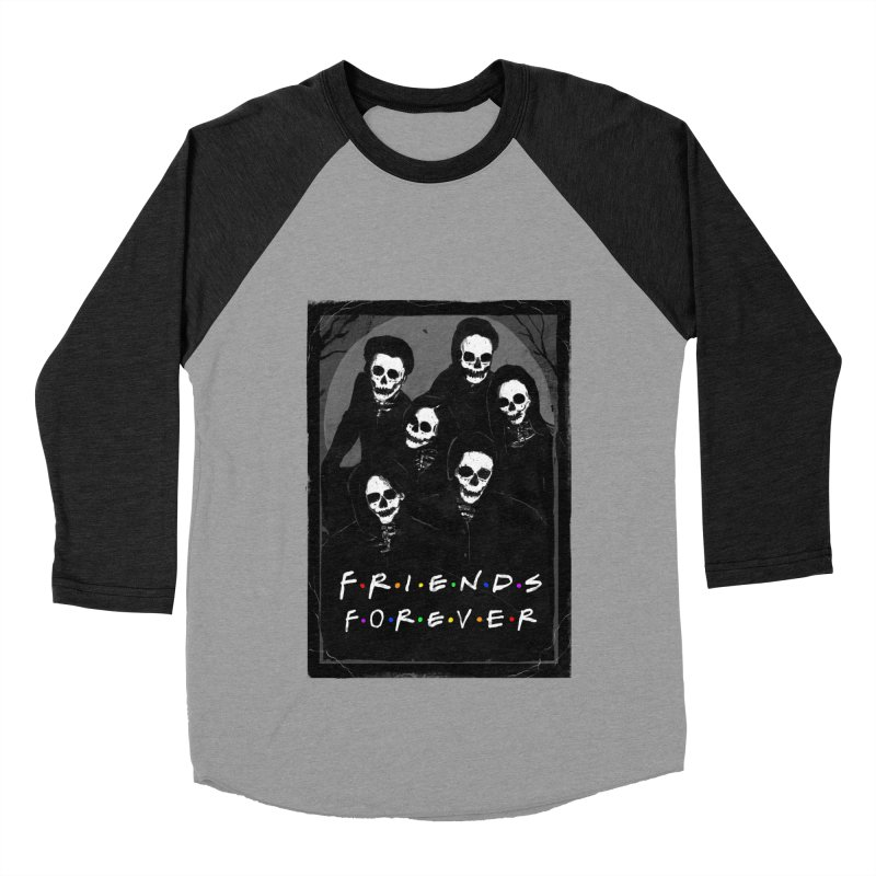 Friends Forever Women's Baseball Triblend Longsleeve T-Shirt by nicebleed