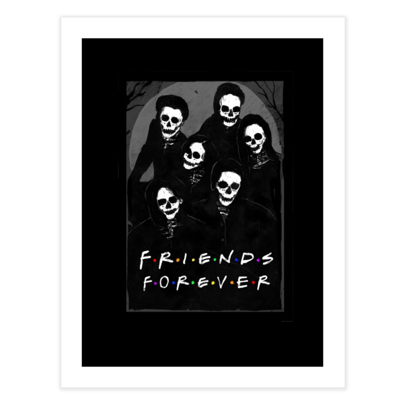 Friends Forever Home Fine Art Print by nicebleed