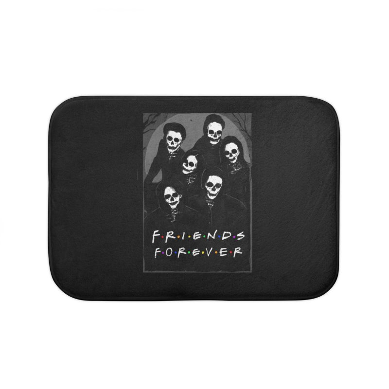 Friends Forever Home Bath Mat by nicebleed