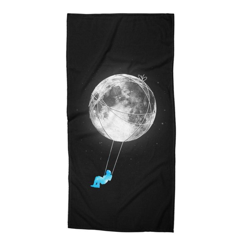 Moon Swing Accessories Beach Towel by nicebleed