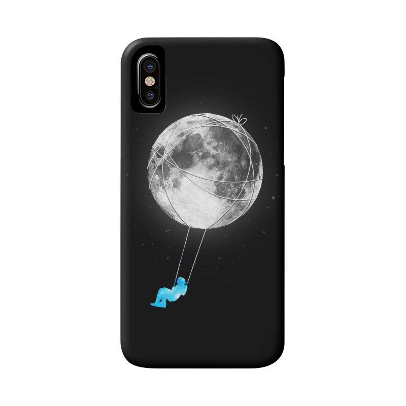 Moon Swing Accessories Phone Case by nicebleed