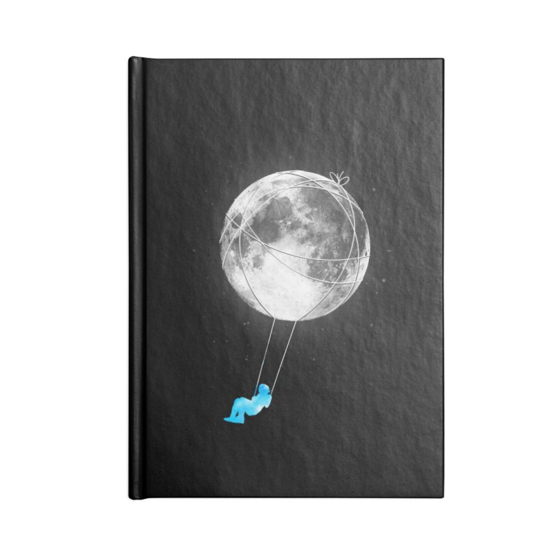 Moon Swing Accessories Notebook by nicebleed