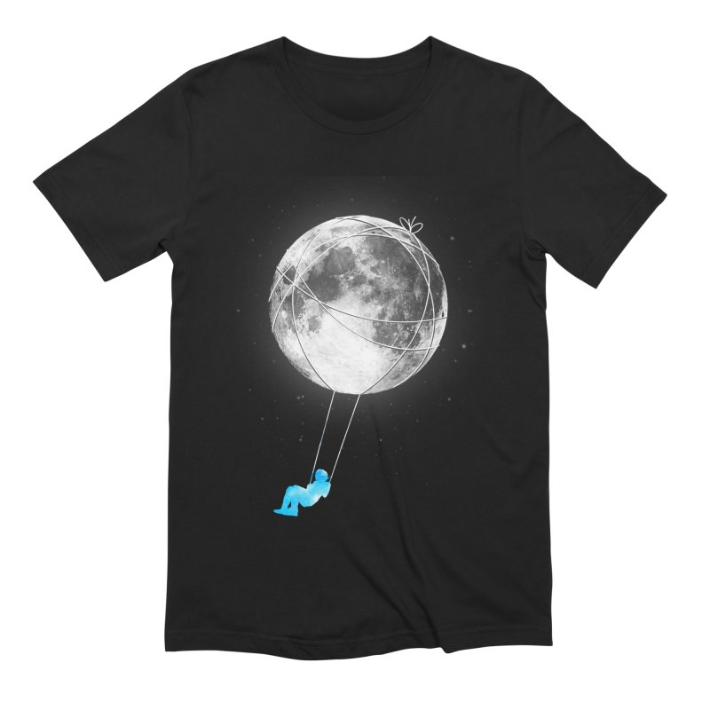 Moon Swing Men's Extra Soft T-Shirt by nicebleed
