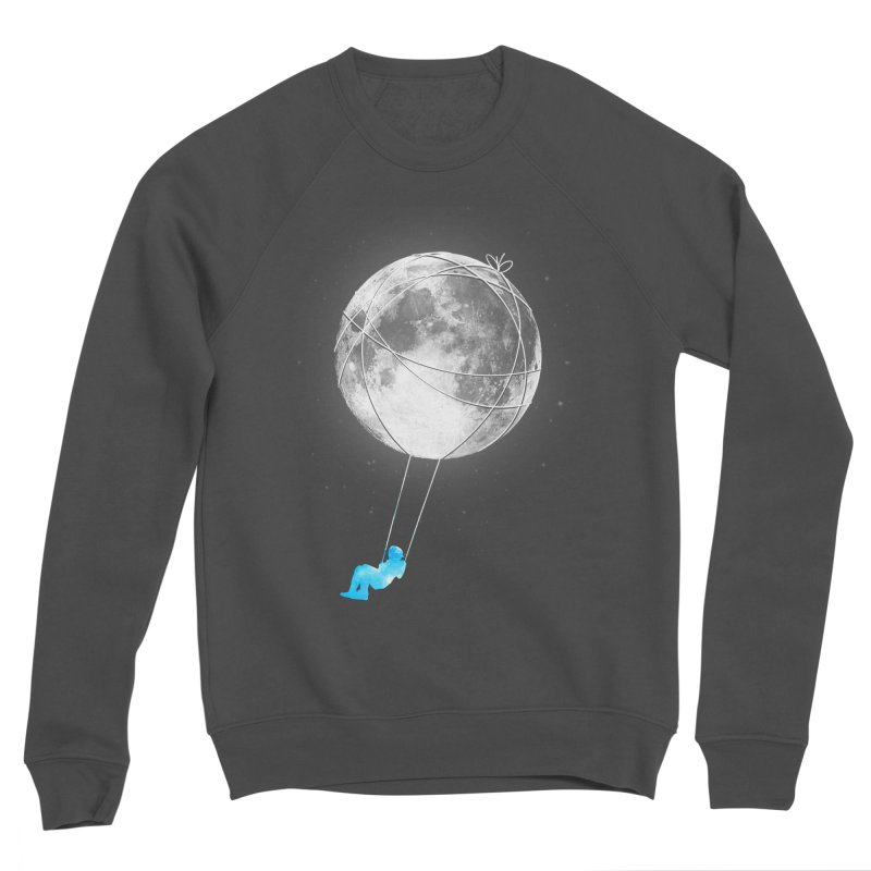 Moon Swing Women's Sponge Fleece Sweatshirt by nicebleed