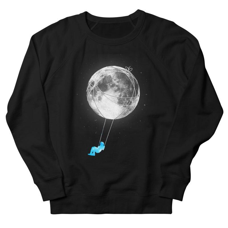 Moon Swing Men's French Terry Sweatshirt by nicebleed
