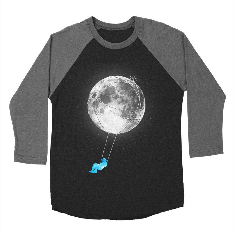 Moon Swing Women's Baseball Triblend Longsleeve T-Shirt by nicebleed