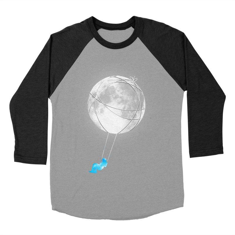 Moon Swing Men's Baseball Triblend Longsleeve T-Shirt by nicebleed