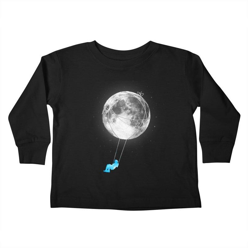 Moon Swing Kids Toddler Longsleeve T-Shirt by nicebleed