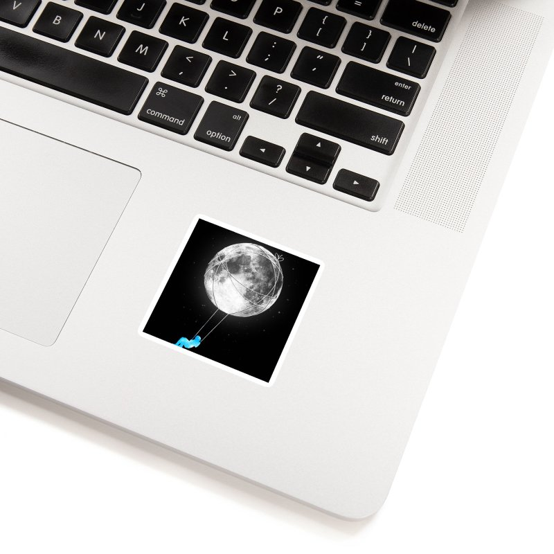 Moon Swing Accessories Sticker by nicebleed