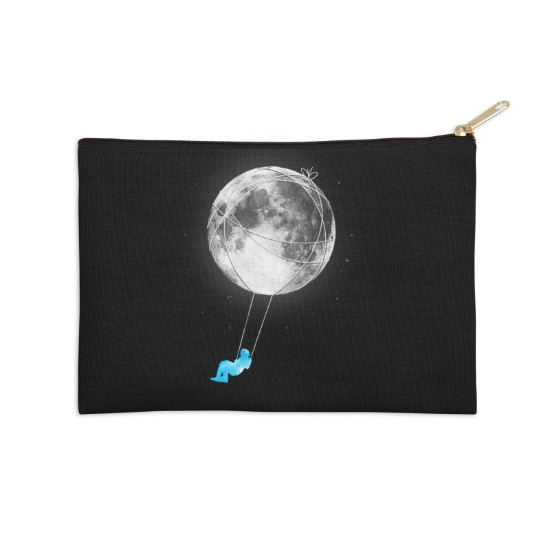 Moon Swing Accessories Zip Pouch by nicebleed