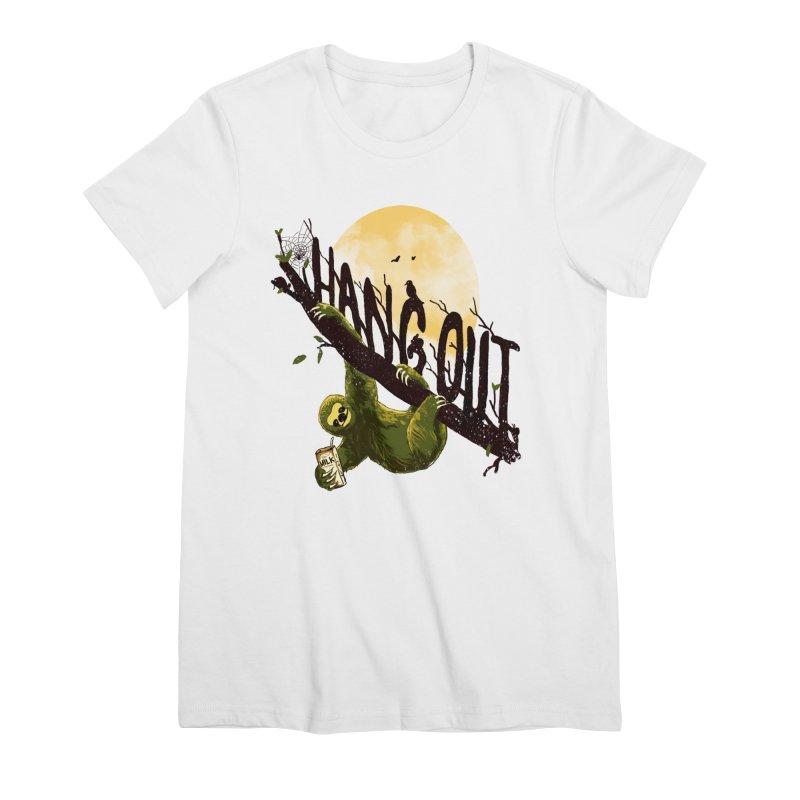 Let's Hangout Women's Premium T-Shirt by nicebleed