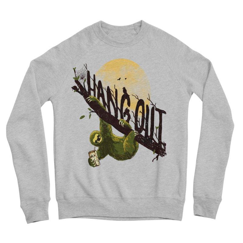 Let's Hangout Men's Sponge Fleece Sweatshirt by nicebleed